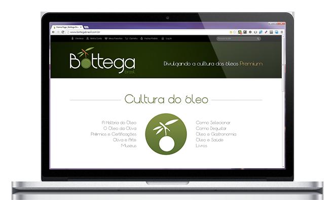 Site Bottega Brasil